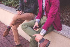 Spodnie dopasowane do sylwetki