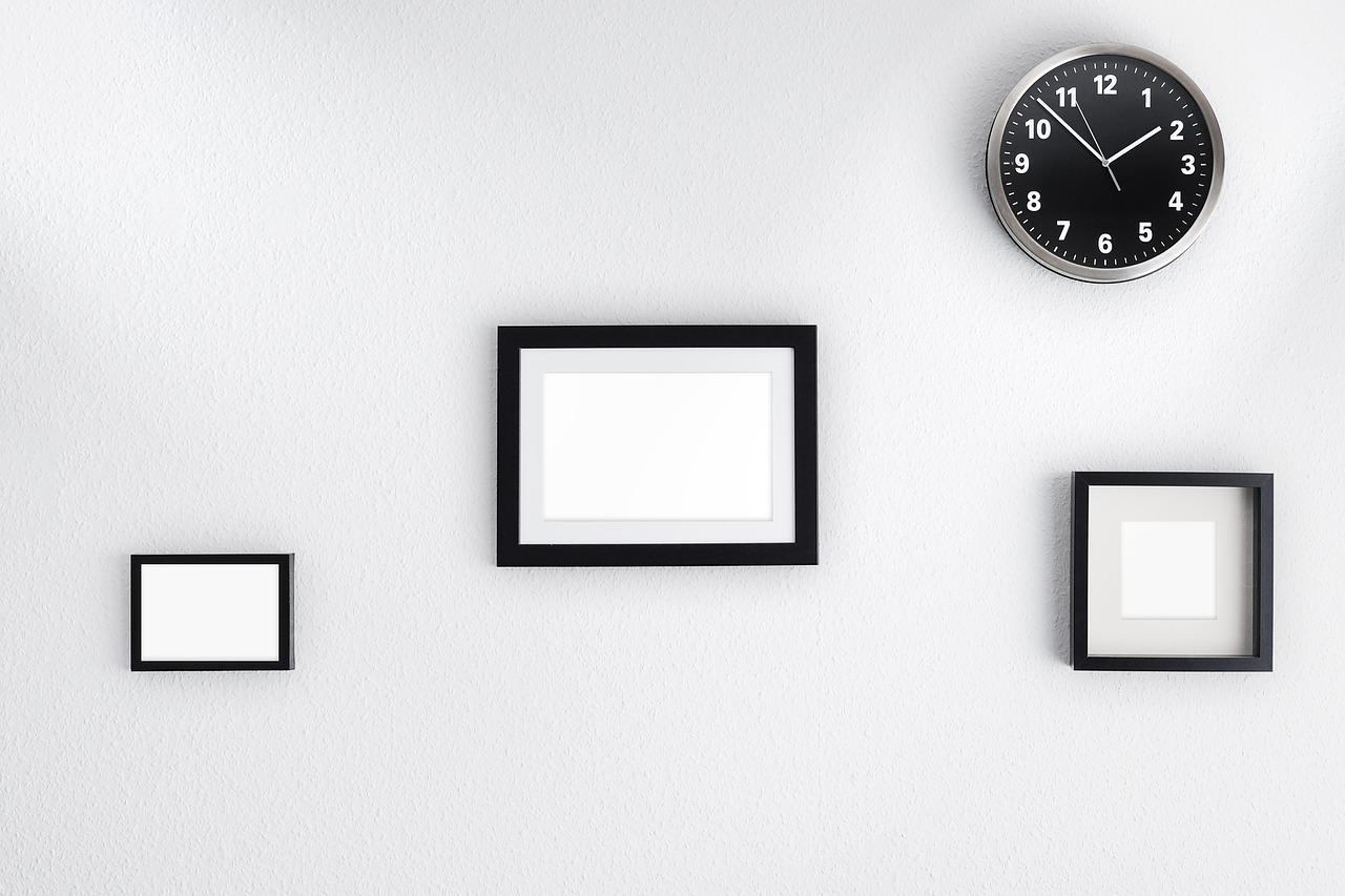 Rozmieszczenie obrazów na ścianie